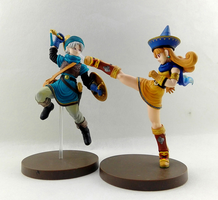 High quality 16cm Dragon Quest DQ slime Action figure doll Dragon Warrior Monsters PVC cartoon anime game doll image