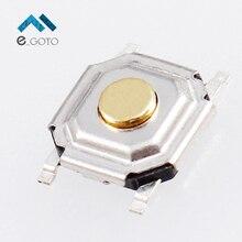 100 шт. 5*5*1.5 мм SMD переключатель тактильные Кнопка микро-Настенные переключатели 5x5x1.5 мм
