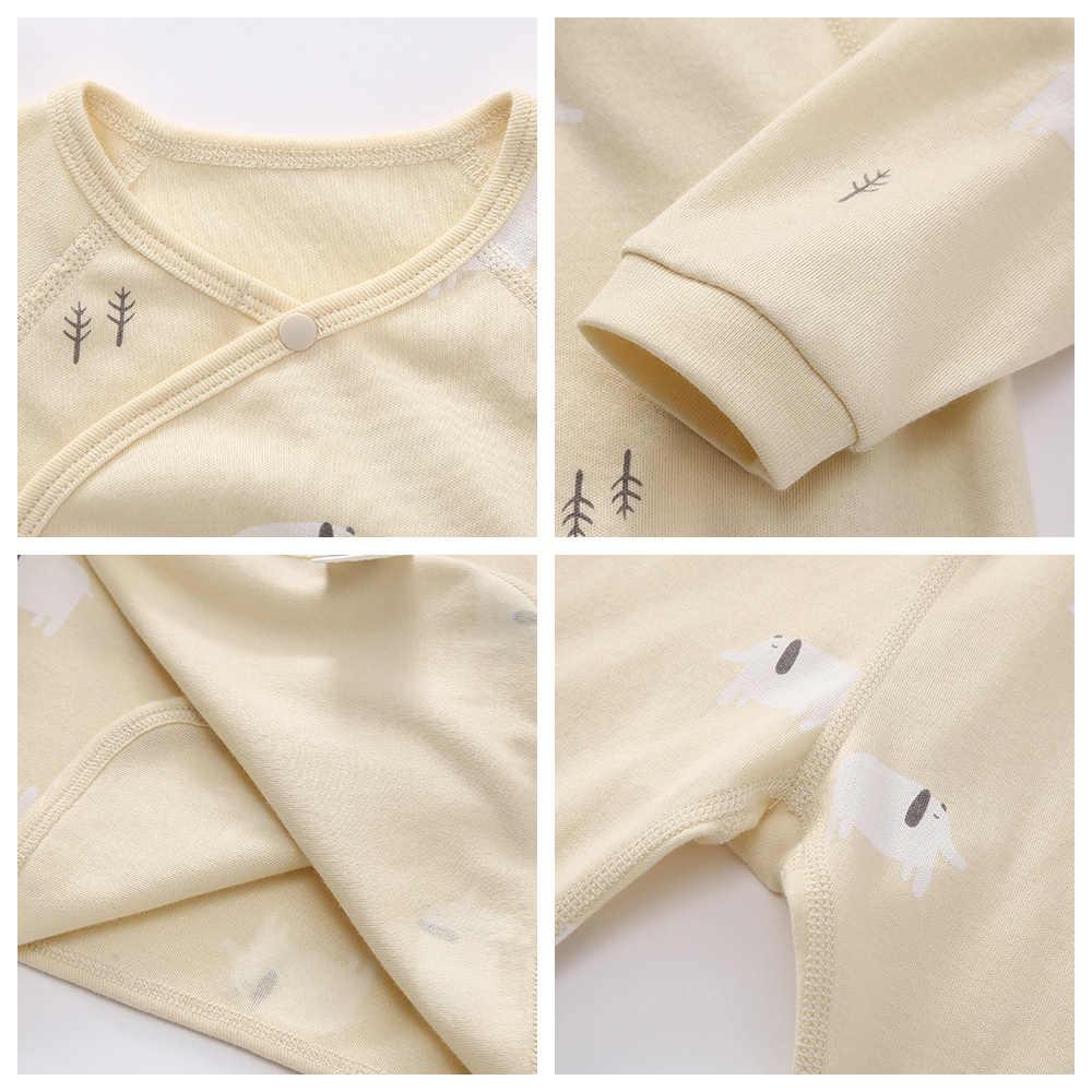 Balabala Babys 2 ชิ้นเสื้อแขนยาวด้านข้าง Tie + กางเกงชุดทารกแรกเกิดเด็กทารกหญิงชุดของขวัญสำหรับฤดูหนาว