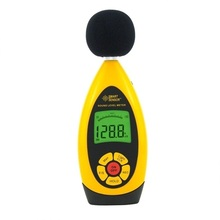 AR854 Handheld Digital Noise Sound Level Meter DB Tester Store 10000 Readings USB Tester Range 30dB-130dB Accuracy +-1.5 db цена