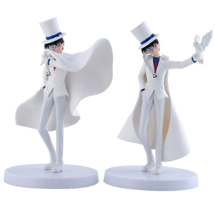 Action Figures 2pcs/set Detective Conan anime figure Kaitou Kiddo KID doll Model hot sell toy for kids Model figuresAction Figures 2pcs/set Detective Conan anime figure Kaitou Kiddo KID doll Model hot sell toy for kids Model figures