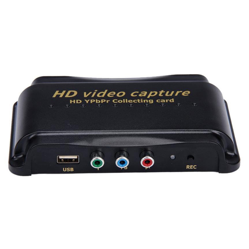 High Quality HD Video Capture Recorder Box 1080P HDMI/YPBPR Recorder Video Cable Adapter For Xbox 360 Sep28