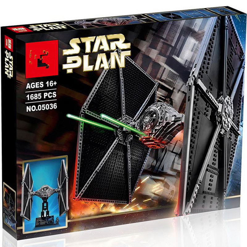 the <font><b>05036</b></font> star wars tie fighter 75095 Mobile Building Block Bricks Toys 1685Pcs Star Wars image
