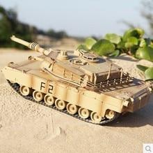 Venda quente Tamanho Grande Tanque RC para o Miúdo Jogar Carta-M1A2 XQTK24-1 carregamento mover Combate Infravermelho Tanque de Controle Remoto atacado