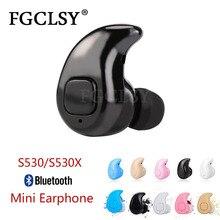 FGCLSY S530 Mini Wireless Bluetooth Earphone S530X Handsfree Earbuds Headset Wit