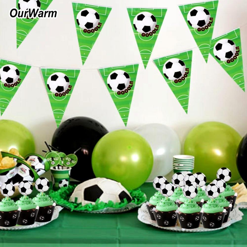 Aytai 축구 배너 행복 한 생일 파티 장식에 대 한 10pcs - 휴일 파티 용품