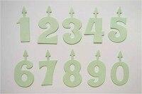DIY 디지털 스크랩북 기호 사망 생일 번호 기호 장식 금속 공예 다이 커터 화살표 촛불 다이 템플릿 DM-950