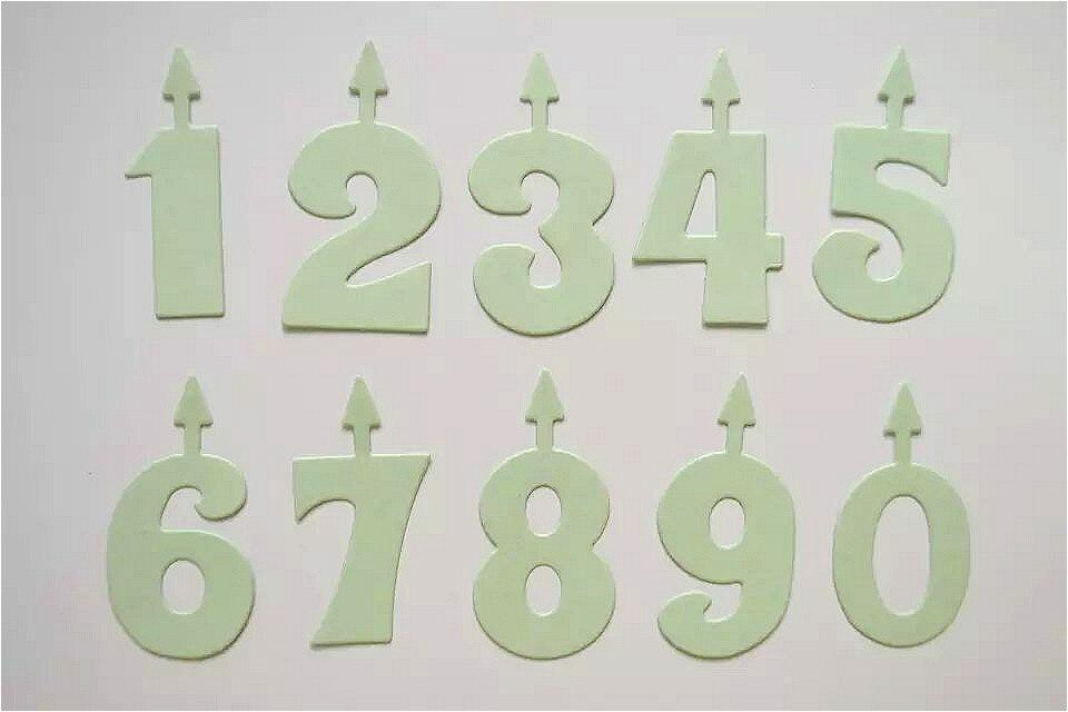DIY Digital Scrapbooking Symbol Dies Birthday Number Sign Decorative Metal Crafts Dies Cutter Arrow Candle Die Template DM-950