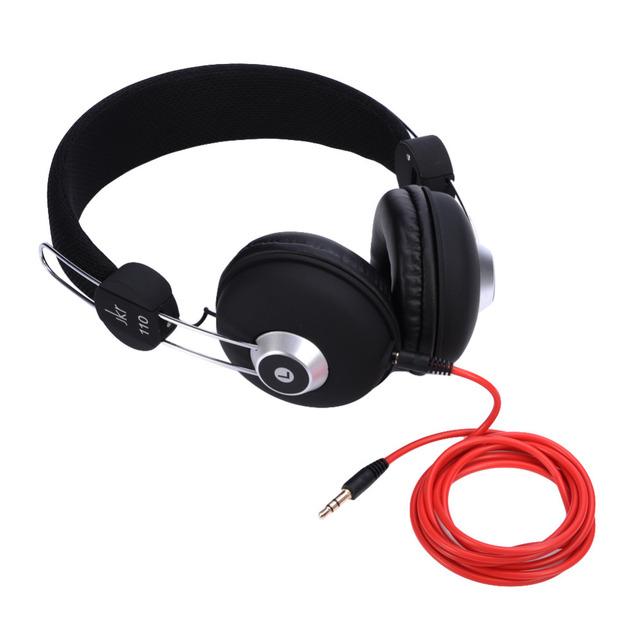 3.5 MM Enchufe Plegable Estéreo Con Cable Auriculares de Música de Alta Fidelidad Auriculares Bajos Profundos para Juegos de Auriculares Estéreo Surround Over Ear Headset