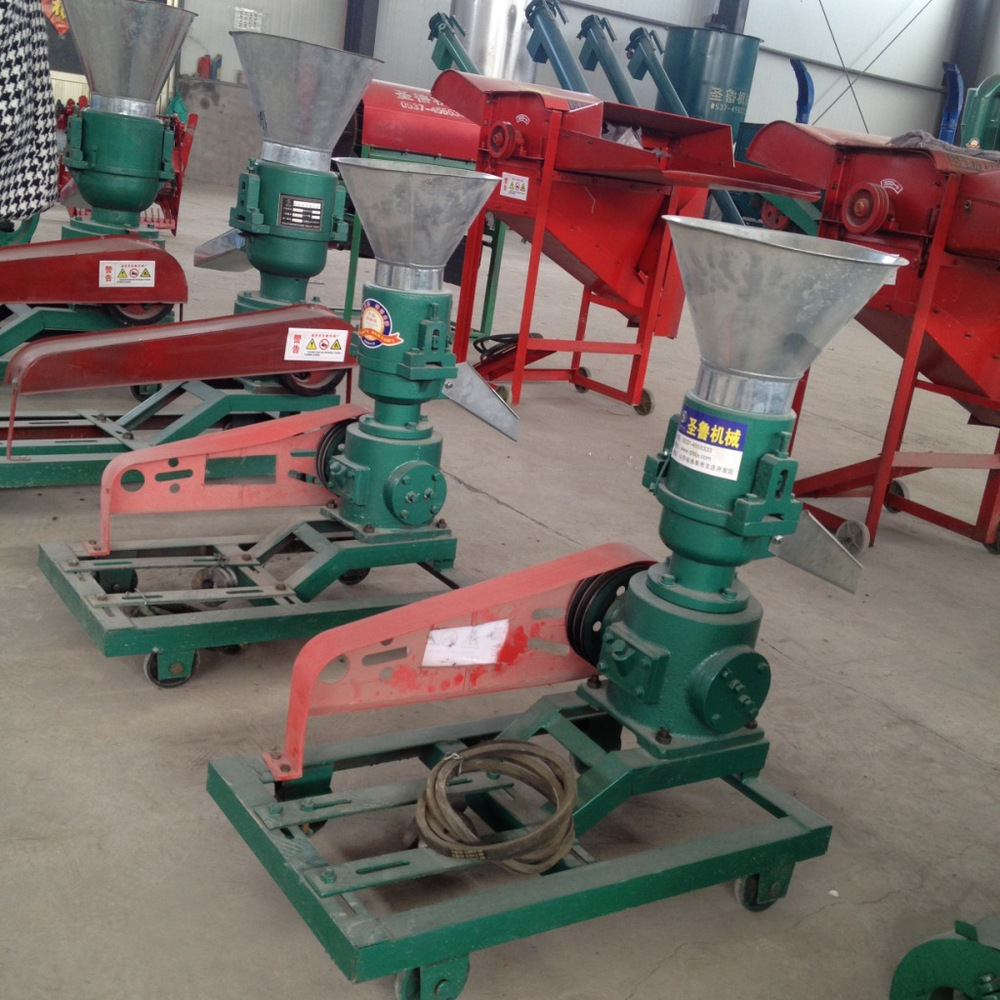 Wood Mill Machine ~ Kd ku belt driven wood pellet mill machine feed