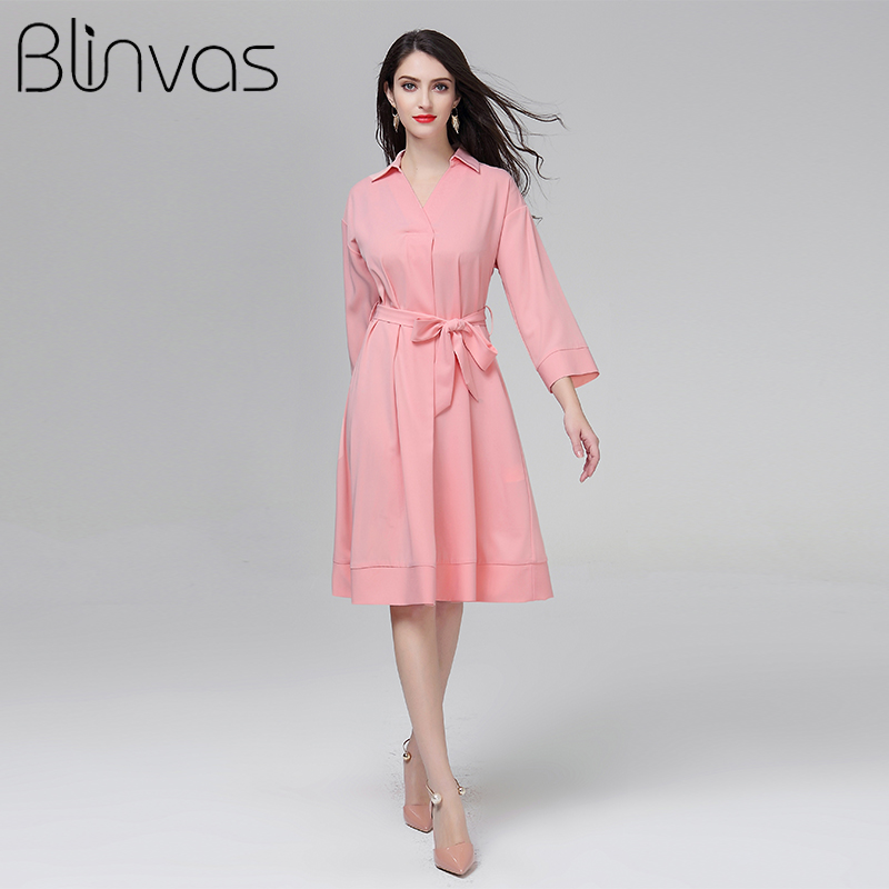 À Arc Robe Femmes Blinvas Rose Robes Mince Solide Acheter Ceintures qnazxwA1aX