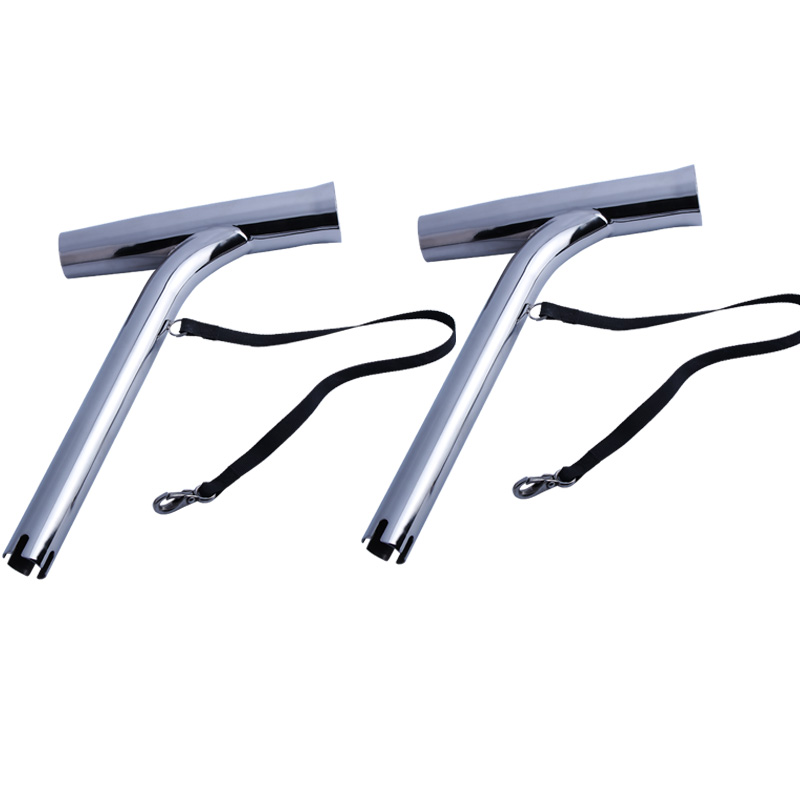 Fishing Accessories 2X Highly Polished Stainless Outrigger Stylish Fishing Rod Holder