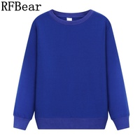 RFBear Brand Factory Outlet Cotton Men Sweatshirts Long Sleeve O Neck Men S Fleece Hoodies Autumn