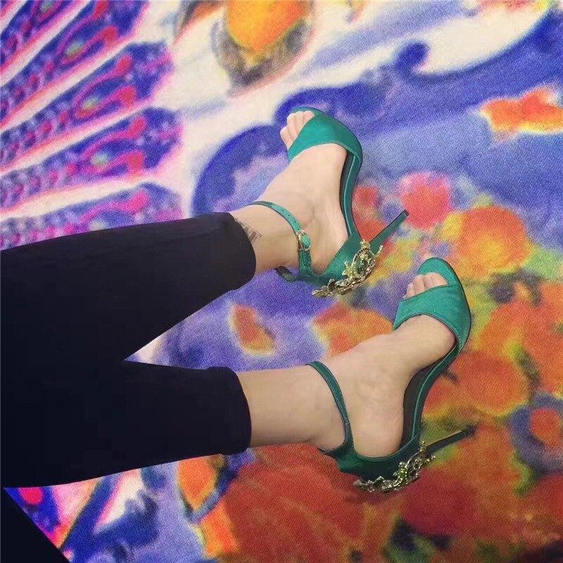 La Bombas Sexy As Estilo Gladiador Tacones Pic Moda as Pic Seda Lujo Del Tachonado Altos Choudory De Cristal Mujeres Sandalias Mujer qwvOt4S4