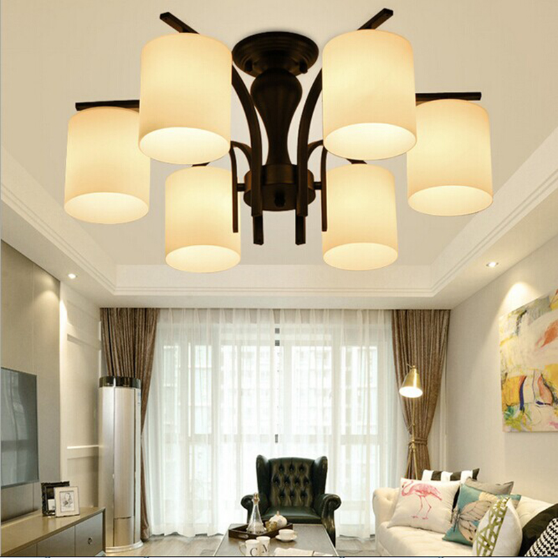 Vintage Iron Ceiling Light Country Indoor Ceiling Lamp Lighting Nordic style E27 LED Living Room / Bedroom/ Dining Room/Bathroom