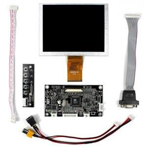 Image 2 - VGAAV Lcd Controller board KYV N2 V6 5inch ZJ050NA 08C replacement AT050TN22 640x480 lcd panel