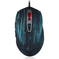 USB Wired Gaming Optical Mouse 5000 DPI LED Backlit 7 Keys Mice for Computer Laptop PC QJY99