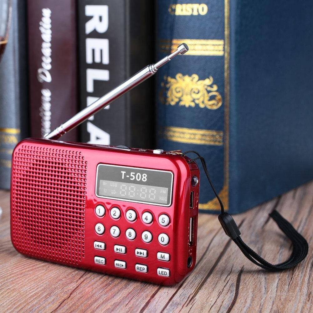 Ehrgeizig Beliebte Heißer 2017 Heißer Mini Tasche Tf-einbauschlitz Mp3 Musik-player Lautsprecher Wiederaufladbare Digital Fm Radio Weich Und Leicht Radio Tragbares Audio & Video