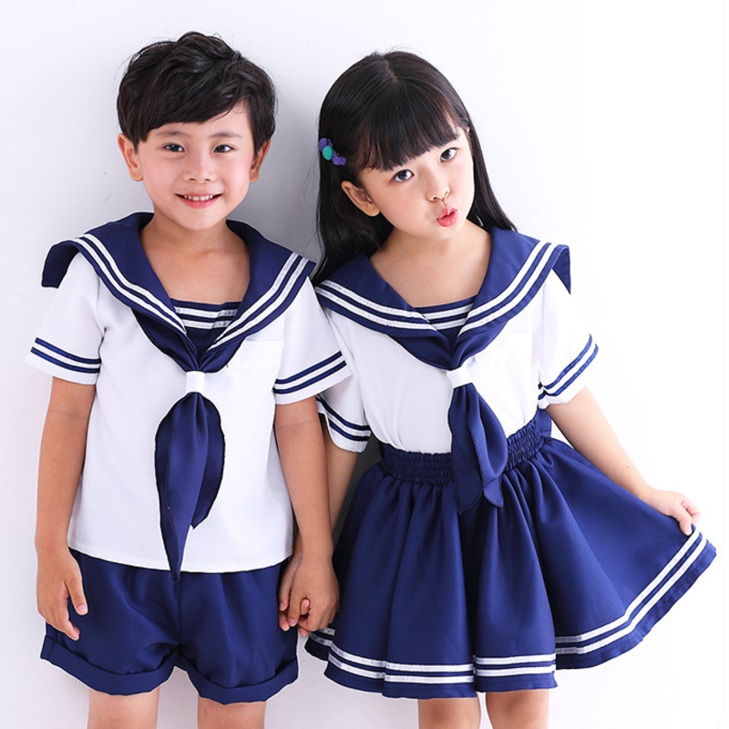 2 Pieces Clothing Set Cute Anime Kid Baby Girls Boys Sailor Moon Cosplay Dress Bowknot Kawaii Lolita School Navy Uniform 2-11T2 Pieces Clothing Set Cute Anime Kid Baby Girls Boys Sailor Moon Cosplay Dress Bowknot Kawaii Lolita School Navy Uniform 2-11T