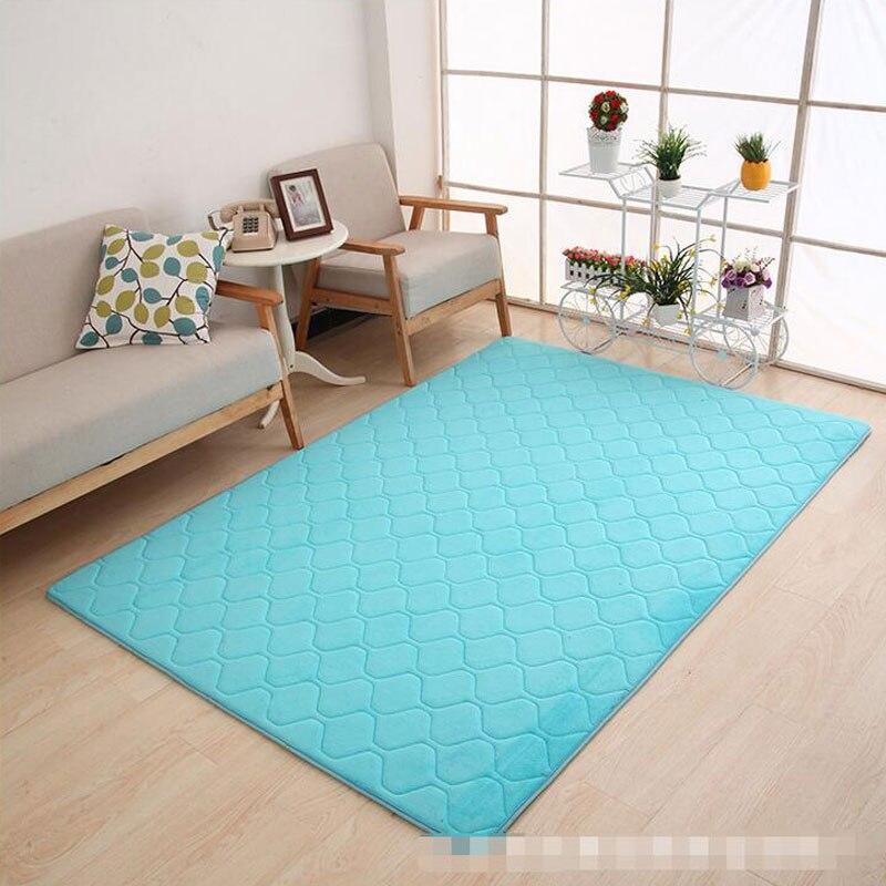 Tapis de sol en mousse à mémoire de forme pour tapis d'absorption d'eau antidérapant de grande taille pour salon chambre fournitures pour la maison livraison gratuite