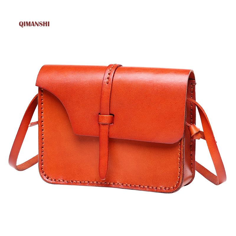 Top Quality 100% REAL LEATHER Bag 2017 Women Shoulder Bags Crossbody Bag For Women Handbag Women Messenger Crossbody Small Bag 2017 fashion all match retro split leather women bag top grade small shoulder bags multilayer mini chain women messenger bags