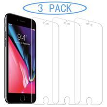 Cho iPhone 8 Plus 7 6 6S X XS Max XR 11 Pro 12 Mini 5 5S SE 2020 5 Tấm Bảo Vệ Màn Hình Kính Cường Lực Bảo Vệ Bộ Phim Screenprotector