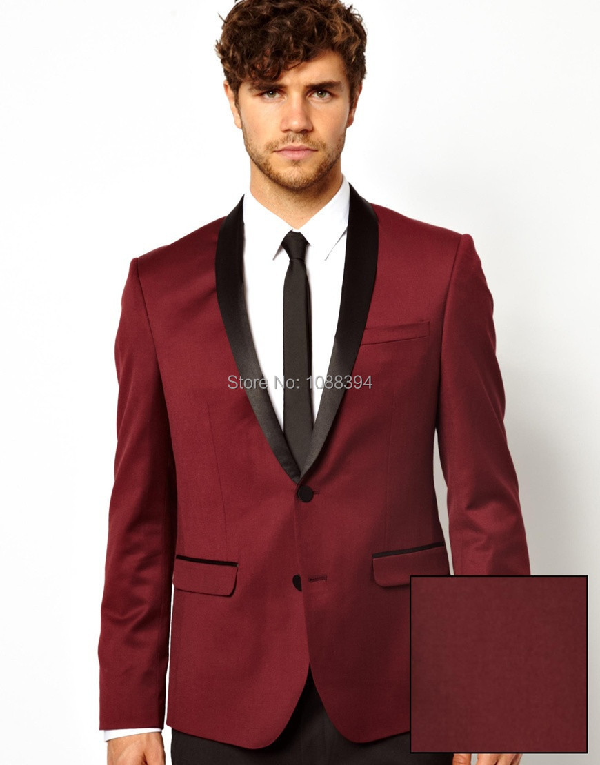Maroon Prom Suit | My Dress Tip