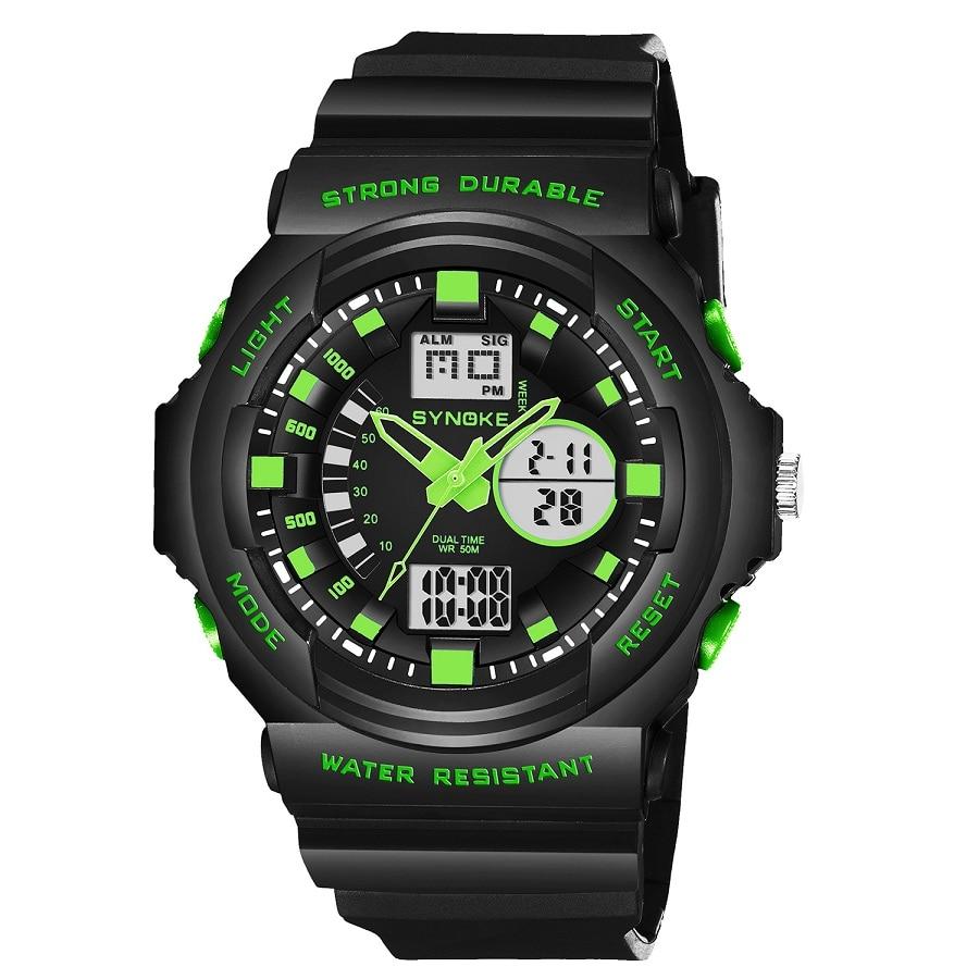 Sport Quartz Digital Wristwatches Timer LED Black Light Alarm Chrono 50M Waterproof Outdoor Watches Men Gift Black бутылка sport elite b 310 750ml black light green