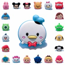 1pcs Tsum Tsum PVC Anime Brooch Pins Badge Cartoon Icon Button Badges for Woman Kids gift Backpack Clothes Hat Decor цена