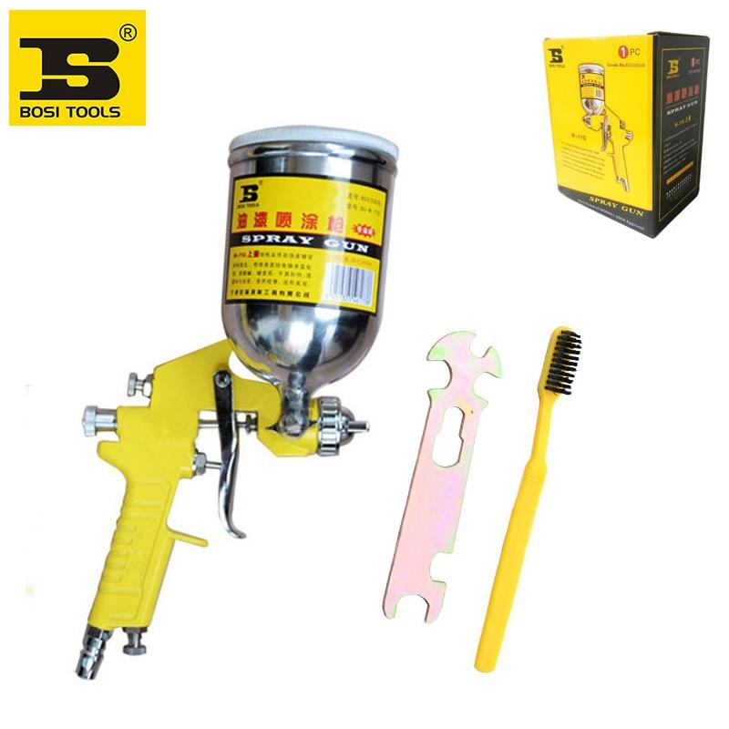 ФОТО Free shipping BOSI 400cc HVLP grayvity air spray paint gun car auto painting spray