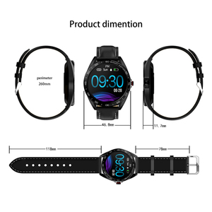 Image 5 - SENBONO K7 IP68 étanche montre intelligente fréquence cardiaque pression artérielle moniteur de sommeil hommes sport Smartwatch mode Fitness Tracker