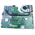 Para asus x75vc laptop motherboard com cpu i3 4 gb 60nb0240 x75vb rev: 3.0 sem dissipador de calor 100% testado