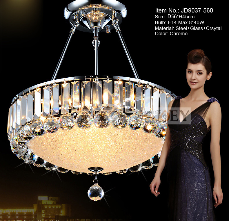 Modern crystal pendant lighting Simply style Palace light  Chrome Luxury Hotel lamp Guaranteed 100%+Free shipping 9037-460 delmon palace hotel ex vendome plaza 4 дубай