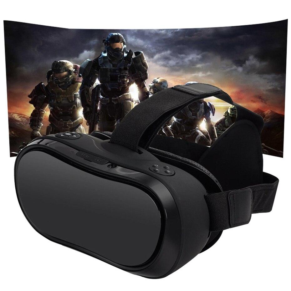 VR Boîte 3D Virtuel PC Lunettes Tout En Un La Réalité Virtuelle Lunettes 2560*1440 pour PC PS 4 Xbox un Hôte 5.5 pouce Écran FHD Affichage