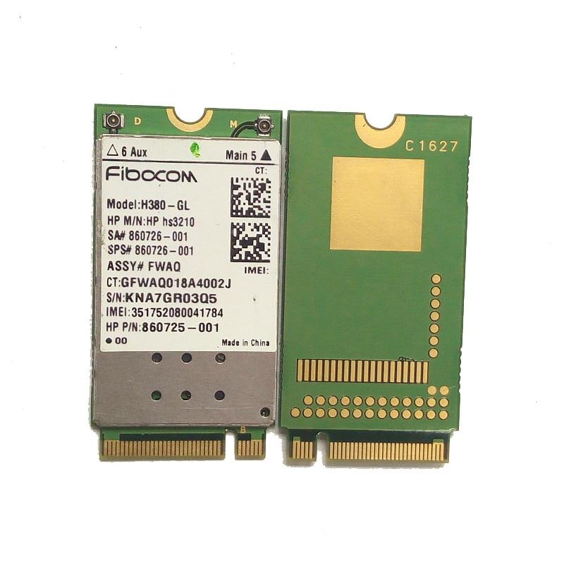 SSEA Wholesale New H380-GL HSPA+ Mobile Module M.2 860726-001 For HP ZBook 17 15 15u EliteBook 840 820 G4 G3 3G Module