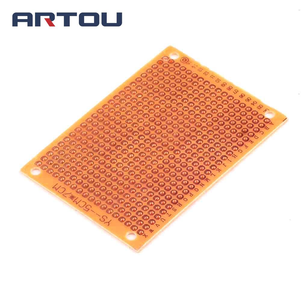 10PCS 5x7cm Prototype Paper 5*7cm PCB Universal Experiment Matrix Circuit Board
