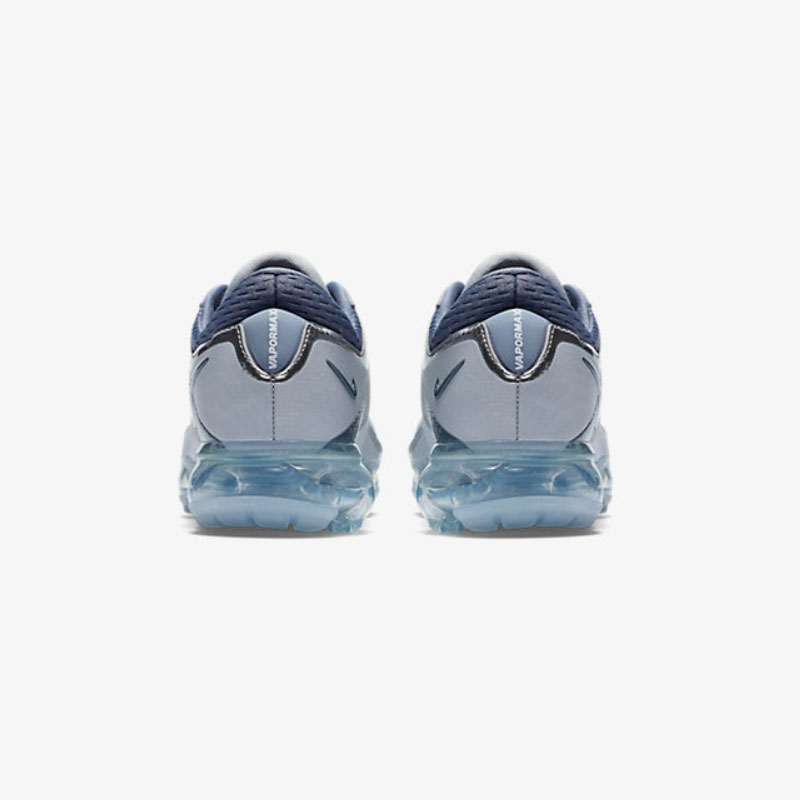 8605d5ea77096 Original NIKE AIR VaporMax Flyknit GS Women Girl Children Shoe Silver  Crystal Lightweight Damping Running Shoes Sport Sneakers-in Sneakers from  Mother ...
