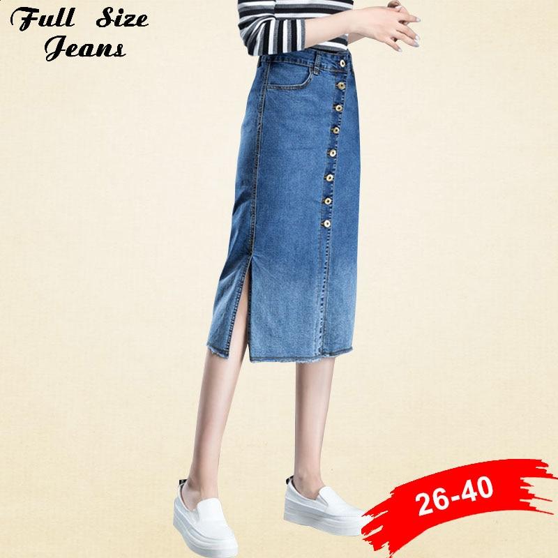 Online Get Cheap Long Jean Skirts for Women -Aliexpress.com ...