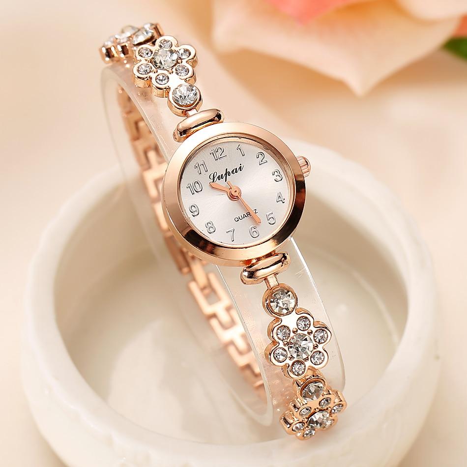 Lvpai 2016 summer style gold watch brand watch women wristwatch ladies watch clock female wristwatches stainless
