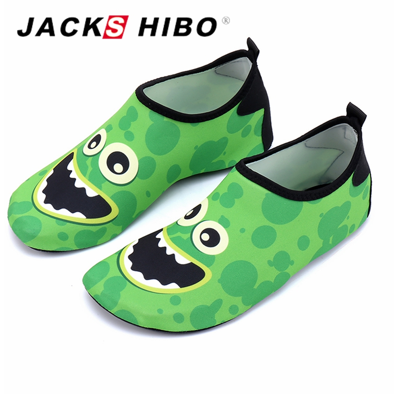 268e8793b170 JACKSHIBO Children Quick Drying Swim Water Shoes Kid Casual Footwear  Surfing shoes for Beach Pool Cartoon Boy Sea Shoes-in Athletic Shoes from  Mother   Kids ...
