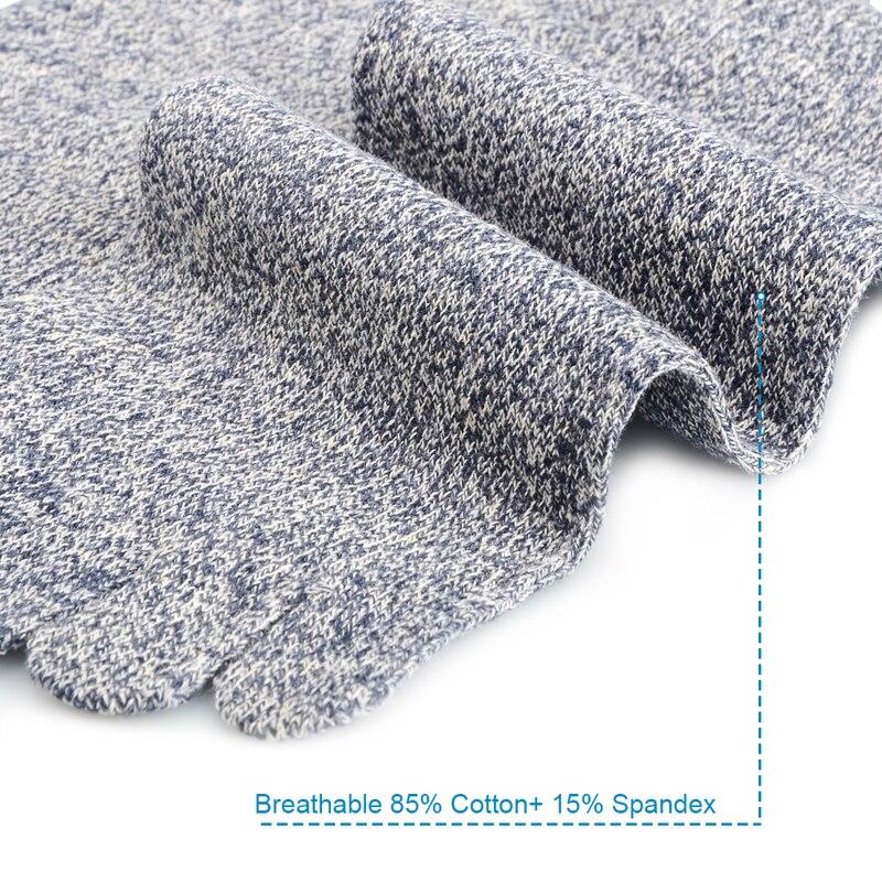 Underwear & Sleepwears Adaptable 1 Pair Mens Cotton Toe Sock Pure S Five Finger Socks Breathable 6 Colors In Pain