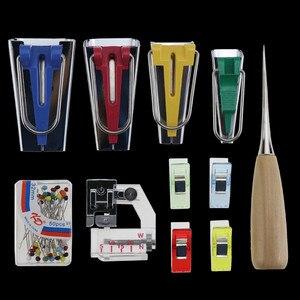 Image 3 - Macchine Utensili Vincolante Cucire Multifunzione Da Cucire Bias Tape Maker Set FAI DA TE Patchwork Quilting Strumento