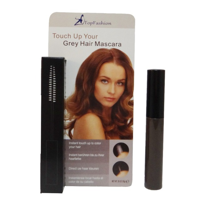 Dark Brown Cosmetic Temporary Cover Grey Hair Topfashion Touch Up