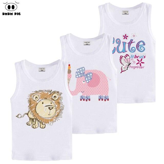 09e9f5ea3 DMDM PIG T Shirt Kids Sleeveless T-Shirts For Boys 8 9 10 Years Clothes  Girls Tops Baby Boy Girl T-Shirt 3D Printed Funny Tshirt