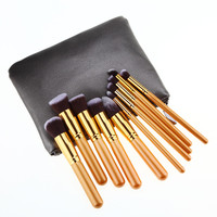 10Pcs Set Professional Brush High Brushes Set Make Up Blush Brushes Makeup Brush Natural Makeup High