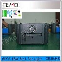 Free shipping Best quality manufacture led lamp China RGBWA+UV wireless dmx512 battery powered led uplights