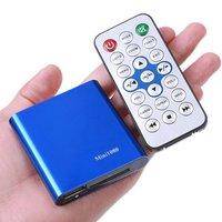 JEDX 1080 P Mini Portable Full HD Media Player avec AV/HDMI/USB/SD, MKV, H.264 TV Box, AD Lecteur Livraison Gratuite!
