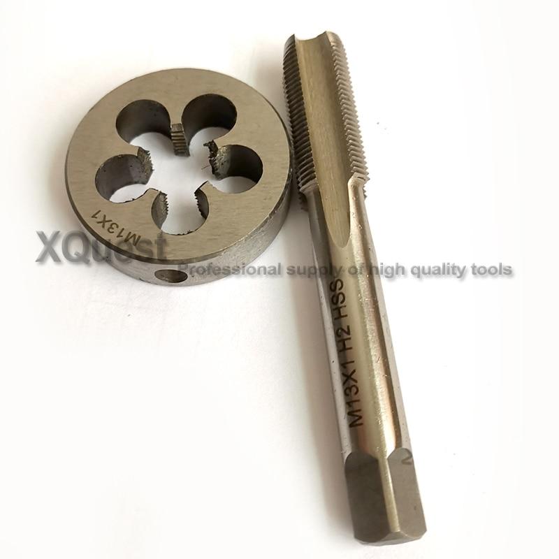 Metric Die Wrench Set Fine Pitch Thread Machine M9*0.5 Round Dies