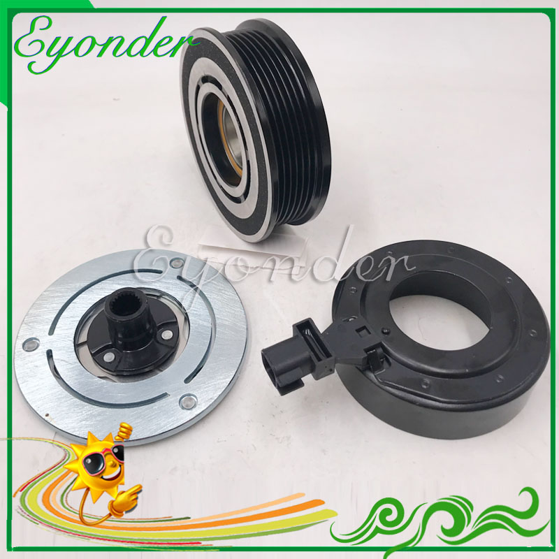 A//C Compressor Pulley fits Range Rover Sport Land Rover Discovery 3 Diesel