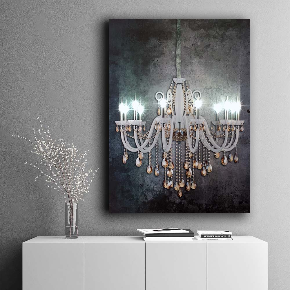 Wall Picture Luxury Crystal Chandelier